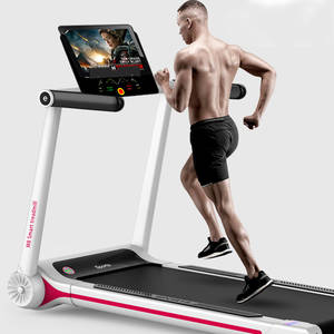 Working-Treadmill Smart-Sport-Machine Folding Home Small Electric for Mute Shockproof
