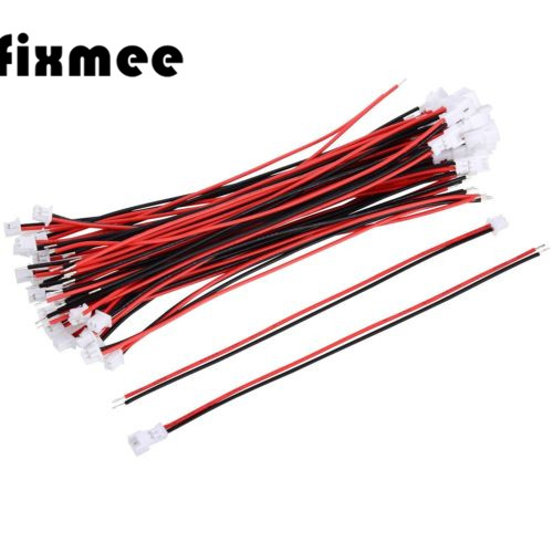 20pc 1.25 Mm JST 2 Pin Micro Electrical Male Female Connector Plug 10 Cm Wire