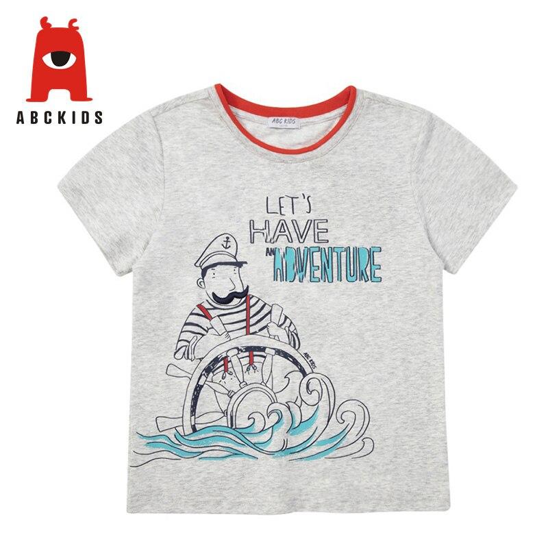Kids Boys Summer Cotton Cartoon Print T-shirt Tops Blouse Casual Tee Shirts Tops