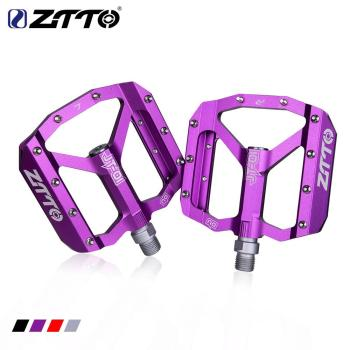 ZTTO MTB Road Bike Ultralight Bicycle Pedals Mountain CNC AL Alloy Hollow Anti-slip Bearings Bicycle Pedals Cycling Part west biking bike bicycle pedals for mtb road mountain cycling pedal mtb cycling pedals bicycle 3 bearings bike accessories