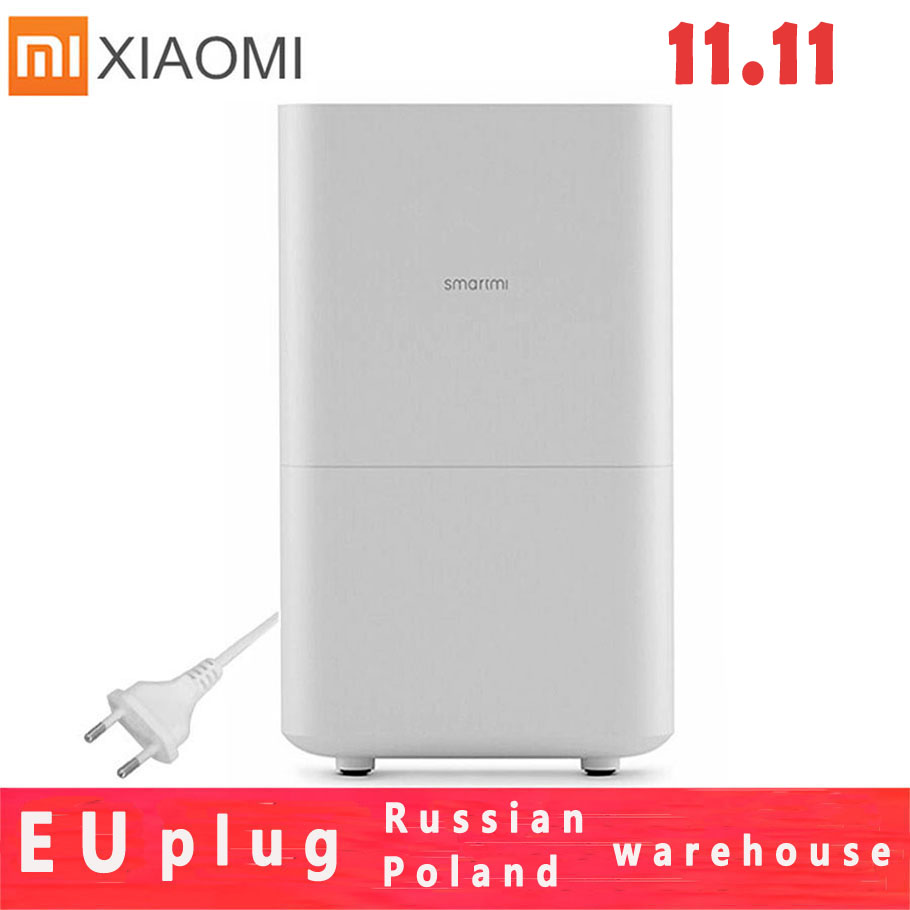 Xiaomi Smartmi2 Zhimi Air Pure Humidifier Mijia Mist-free Evaporate Type Air Humidity Mute Humidifier Mijia Mi Home App Control