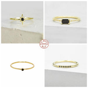 Finger-Rings Anillos Fine-Jewelry Engagement Minimalist 925-Sterling-Silver Women Luxury
