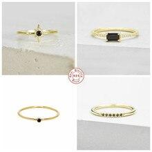 Anillos – bagues de luxe en argent Sterling 925 pour femmes, bijoux fins minimalistes, cadeau d'anniversaire de fiançailles, pour amoureux