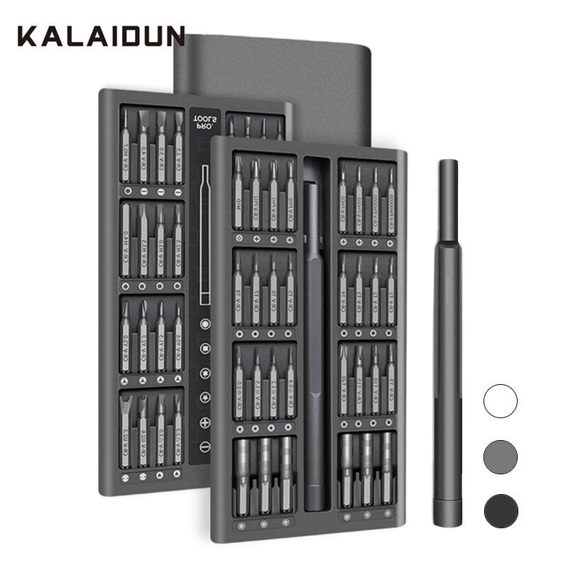 KALAIDUN Screwdriver Set 63 In 1 Precision Screw Driver Torx Bit Magnetic Hex Phillips Bits Mobile Phone Laptop Repair Tools Kit(China)