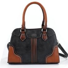 Женские сумки, женские сумки из натуральной кожи, новые роскошные винтажные женские сумки, Большая вместительная сумка на плечо, женская сумка
