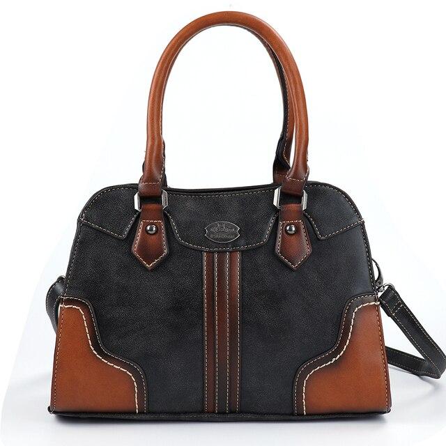 2019 bayan çanta Kadın Hakiki Deri Çanta Yeni Lüks Vintage Kadın Çanta Büyük Kapasiteli omuzdan askili çanta Ana Kesesi Femme