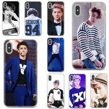 Мягкий чехол Oh SeHun EXO-K EXO Team Корейская звезда для Huawei P8 P9 P10 P20 P30 P Smart 2019 Honor Mate 9 10 20 8X 7A 7C Pro Lite