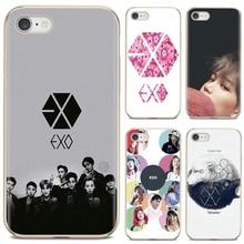 Мягкий силиконовый чехол EXO band k-pop kpop для Samsung Galaxy A12 A31 A41 A51 A71 A20e A21s M30 A10 A30 A40 A50 A60 A70