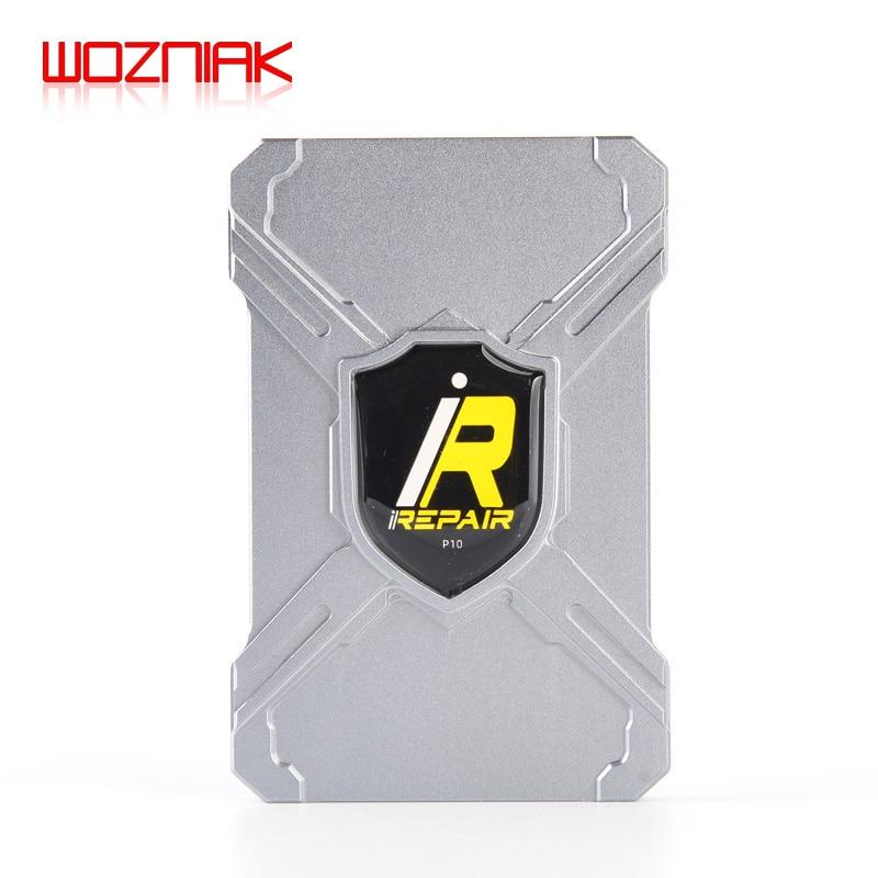 IRepair P10 DFU Box DFU 모드/id 박스로 원 클릭 원 버튼 보라색 화면 읽기 iPhone 6-X 및 iPad 용 일련 번호 쓰기
