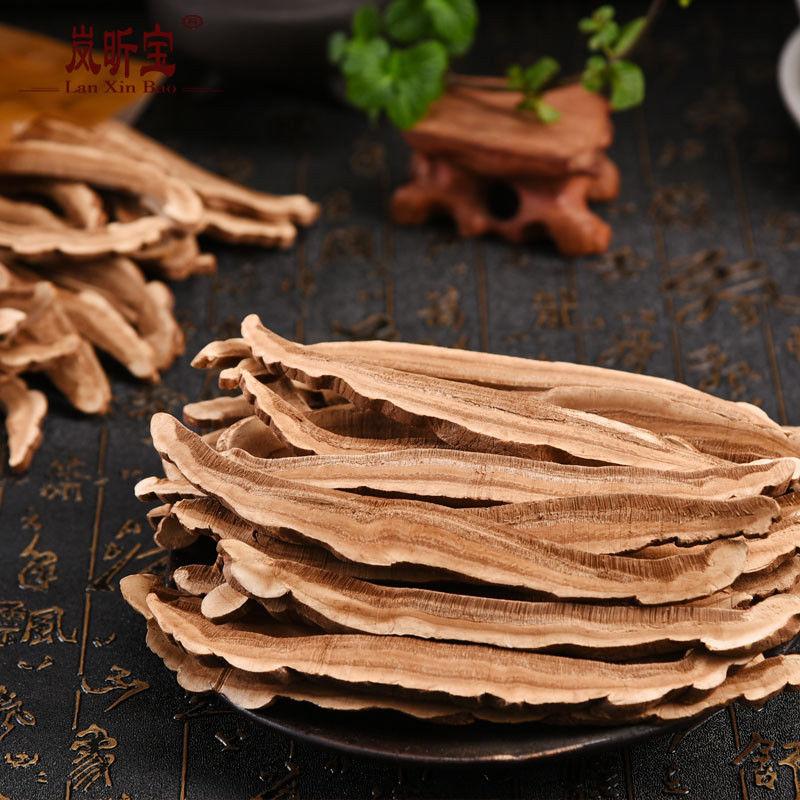 Organic Wild Lingzhi Reishi Mushroom Slices Ganoderma Lucidum Herbs Ling Zhi Tea