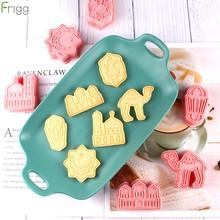 EID moubarak Biscuit moule emporte-pièces bricolage gâteau outils de cuisson islamique musulman fête décor Al Adha Ramadan décoration Eid moubarak