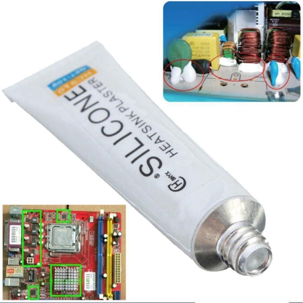 New 10g Silicone Thermal Conductive Adhesive Glue Tube Heatsink Plaster For PC CPU