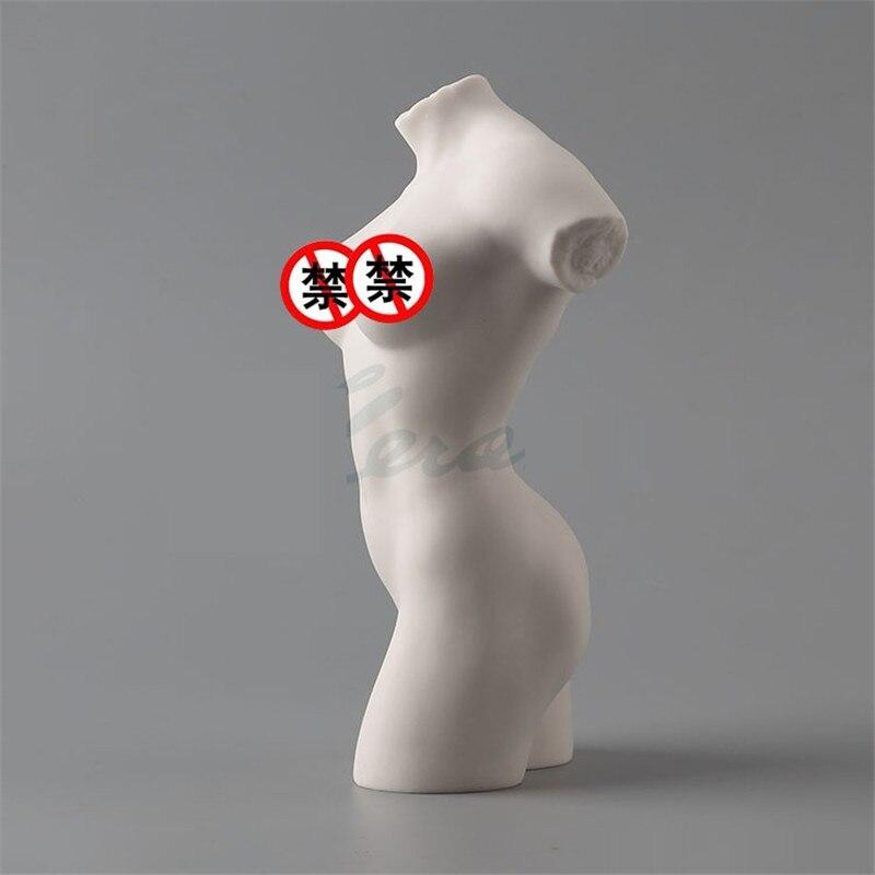 Simple Modern Creative Matt Glaze Naked Lady Figure Art Sculpture Art Nude Girl Statue Ceramic Craft Home Decoration R3101 Statues & Sculptures     - title=