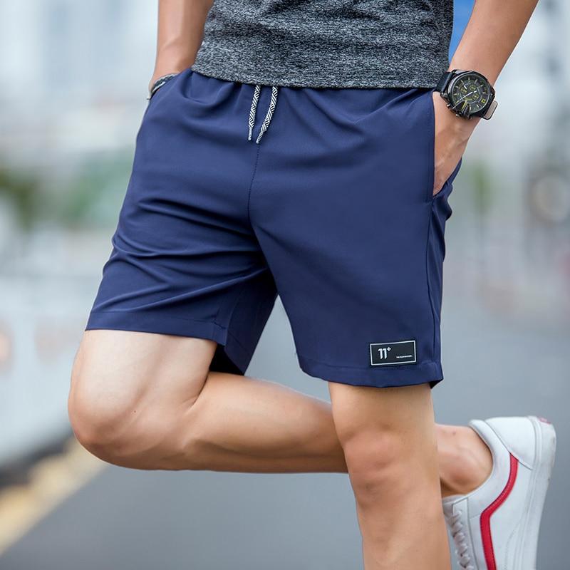 Mens Compression Shorts 4XL Mens Shorts Summer Shorts Homme Polyester Patchwork Short Pants High Waist Shorts Elastic Waist New