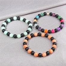 купить Natural Stone Bead Bracelet For Women Girl Beads Bracelets Bangles Charm Natural Stone Bracelet For Men Women Jewelry GIft по цене 95.09 рублей