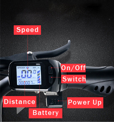 JX003 3 Wheel Electric Scooter E Bike Bicycle foldable High Speed Electric Tricycle with 2 pcs battery 350W Powerful  for Adult 6