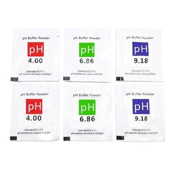 6 шт., калибровочный раствор PH, порошковый точный и простой калибровочный раствор PH порошок для калибровки Solution 6,86, 4,00, 9,18|Измерители pH|   | АлиЭкспресс