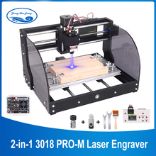 CNC 3018 Pro Max Laser Engraving Machine DIY 3Axis PCB Milling Machine Laser 15w Wood Router GRBL Control CNC Machine for Metal