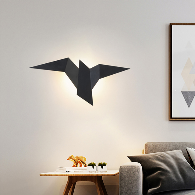 Nordic Led  Birds Wall Lampen 5