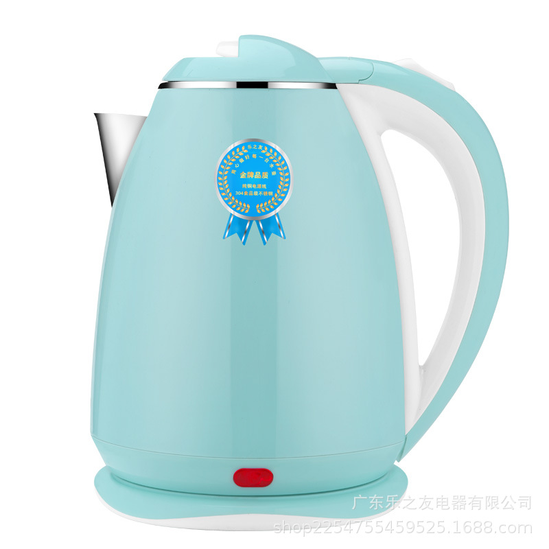 Electric Hot Water Bottle Hot Water Bottle Pot 2L Household Electrical Appliance Stainless Steel Automatic Electric Kettle Gift