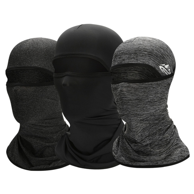 Summer Full Face Mask Multifunctional Cycling Headwear Breathable Sun Protection Scarf