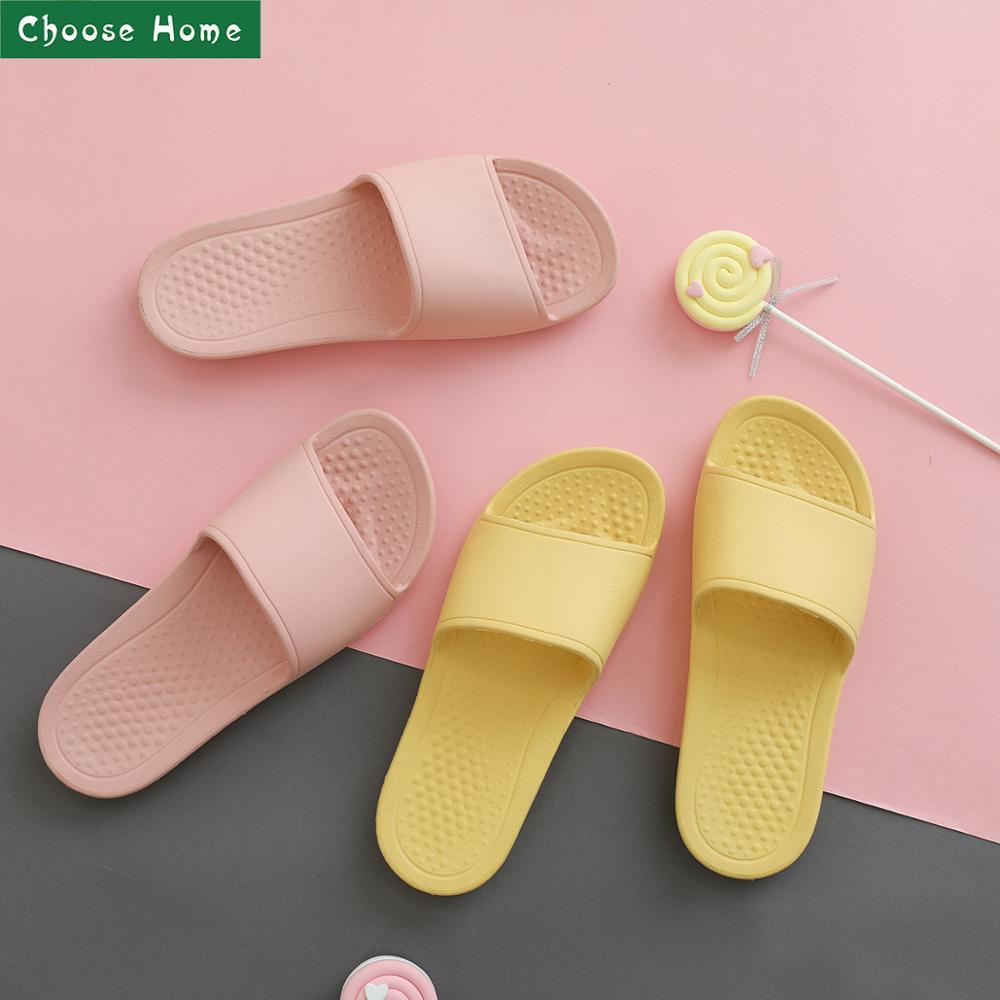 Summer Slippers Bathroom Women's Slippers Massage Slippers Soft Men's Slippers For Indoor & Outdoor Beach Slipper