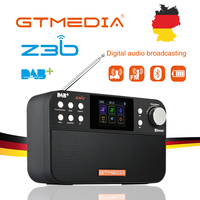 GTmedia Z3B DAB Portable Radio FM broadcast Digital Recorder 2.4 inch TFT LCD color display Support Bluetooth digital player