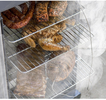 FD3002 Electric Meat Sausage Smoke Rotisseries Roaster Sausage chicken smoke cooker Stainless Steel 3