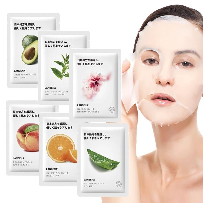 Moisturizing Face Mask Fruit Essence Blackhead Remover Mask Nourishing Whitening Face Masks Slim V Face Mask Cosmetics Beauty