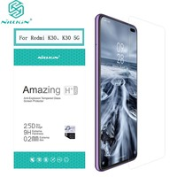 For Redmi K30 Glass Nillkin H /H+PRO Anti-burst 9H Screen Protector for Redmi K30 5G Film