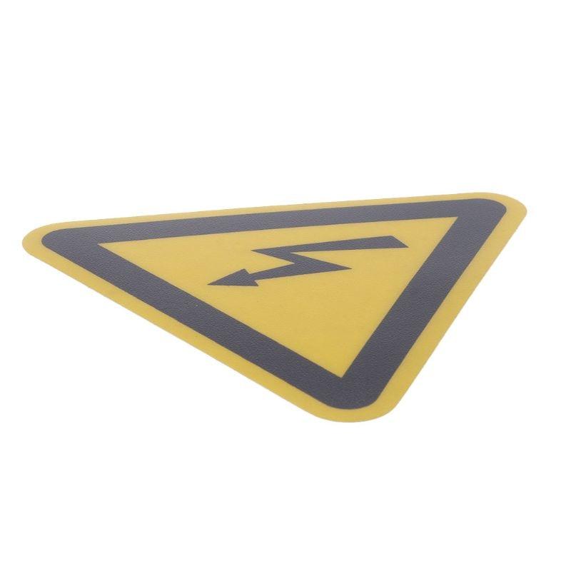 Warning Sticker Adhesive Labels Electrical Shock Hazard Danger Notice Safety 50mm PVC Waterproof  27RA