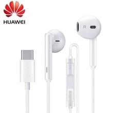 Оригинальные наушники HUAWEI CM33 Eerbuds, USB TYPE C микрофон с регулировкой громкости для Mate 10 Mate 10 Pro P20 P20 P30 Pro