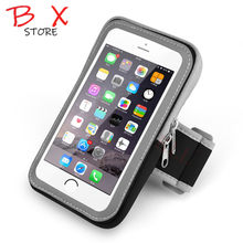 Universal Waterproof Mobile Phone Sport Armband Case for iPhone Running Phone Arm Band Brassard Telephone Holder Arm Bag Pouch(China)