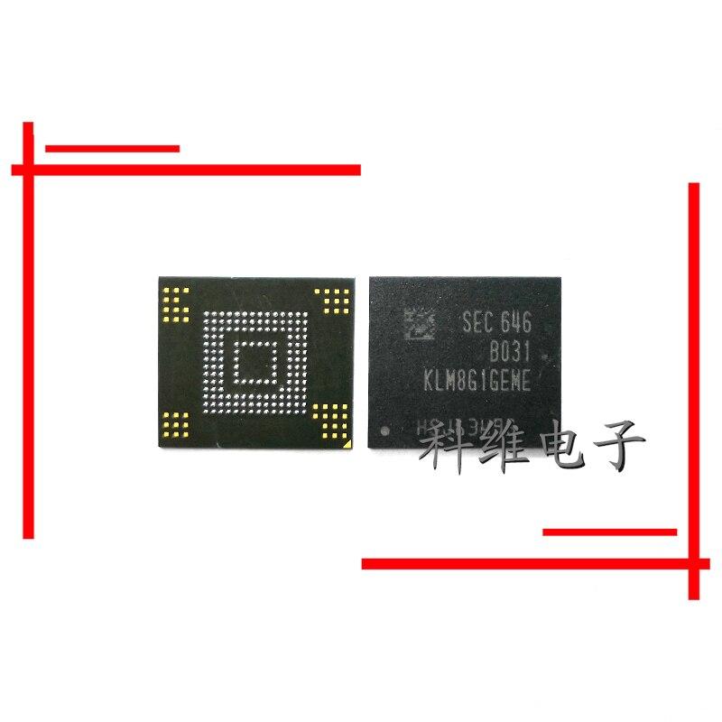 1pcs/lot KLM8G1GEME-B031 KLM8G1GEME-B041 Emmc 8G Storage IC Chip Repair