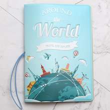 New Have A Nice Trip Passport Holders Men/women Travel Passport Cover Bag Pvc Leather 3D Design Cover On The Passport For Travel