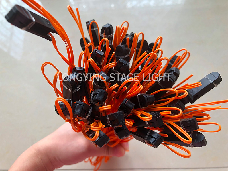 Image 2 - Copper Wire Orange Color Talon Ignition Wire for Fireworks Firing System Firing Device-in Stage Lighting Effect from Lights & Lighting on