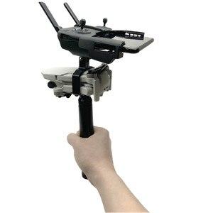 Image 4 - Handheld Gimbal Camera Stabilizer Monitor Controller Tripod Holder Clip Bracket For DJI Mavic Mini Accessories