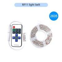12V 2835 30 LED/RF LED 컨트롤러와 미터 Dimmable LED 스트립 램프 1M 2M 5M 주방 캐비닛 조명 RF LED 조 광 기