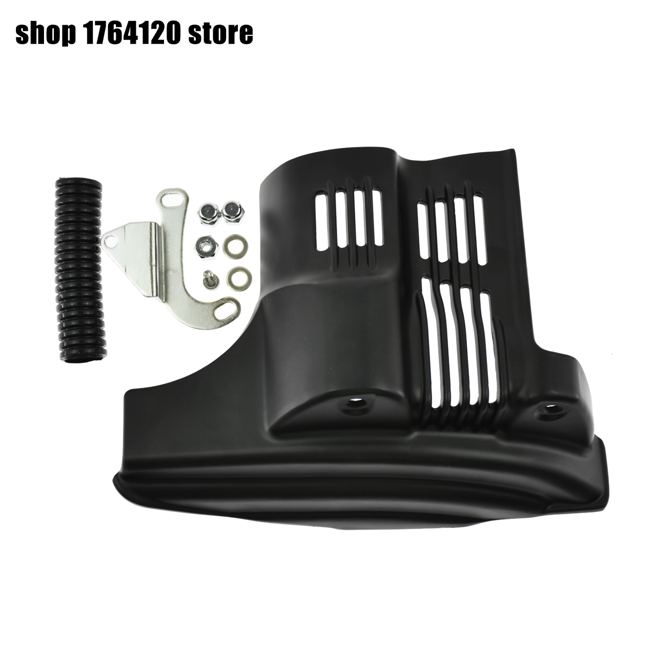 Motorcycle Black Starter Cover For Harley Sportster <font><b>Iron</b></font> <font><b>883</b></font> XL883N 2009-2018 Seventy Two XL1200V 2012-2016 Models image