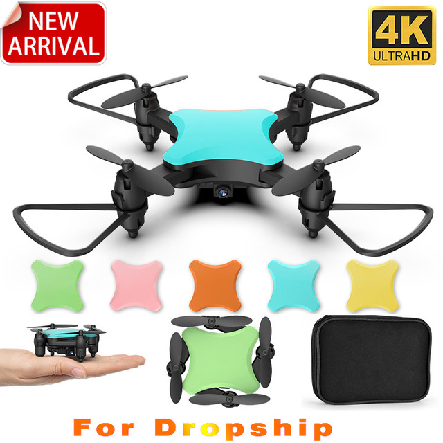 New KY902S Mini Drone 4k HD Camera Creative DIY Design Five Colors RC Foldable Quadcopter Remote Control Toy For kids