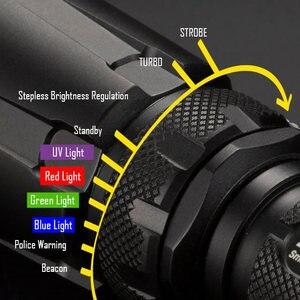 Image 4 - Nitecore 5 di Colore Rgb + Luce Uv SRT7GT + Batteria Ricaricabile Del Cree XP L Hi V3 1000LM Intelligente Anello Torcia Elettrica Impermeabile di Salvataggio Torcia