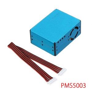 Pms5003 pm2.5 módulo de saída digital do laser do sensor de poeira da partícula do ar alta precisão da detecção da névoa do ar dispositivo casa inteligente