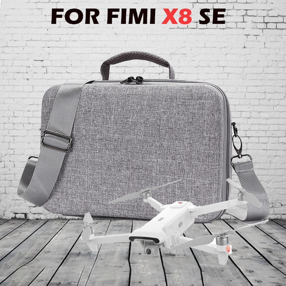 EVA Liner Storage Case For Xiaomi Fimi X8 SE Drone Accessories Storage RC Quadcopter Waterproof Carrying Box Bag Dropshipping