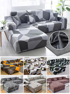 Sofa-Cover Longue Chaise Stretch-Corner Order L-Shaped Universal Sectional 2pieces Needs