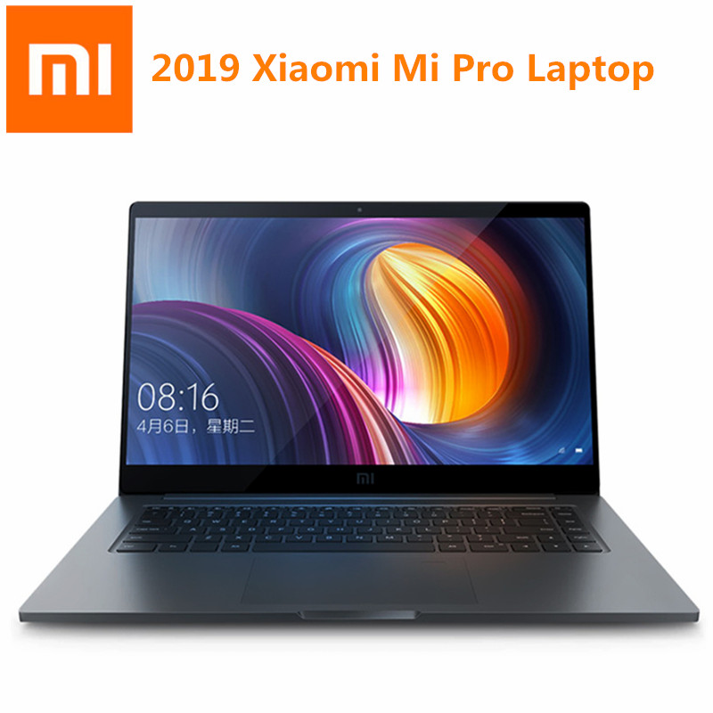 2019 Xiao mi mi Pro ordinateur portable 15.6 pouces Windows 10 Intel Core i7-8550U Quad Core 1.8GHz 16GB 256GB Version maison rétro-éclairage ordinateur portable