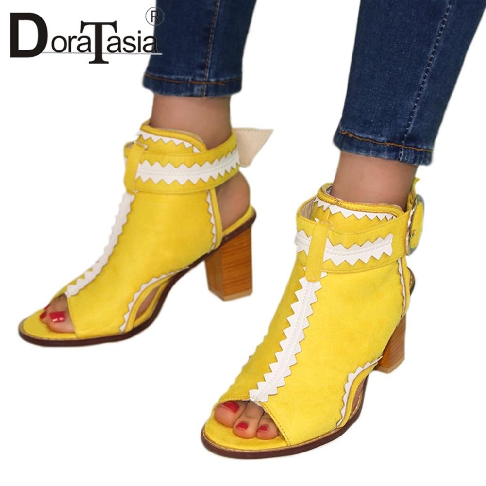 Купить doratasia/новинка; лидер продаж; уникальные разноцветные сандалии;