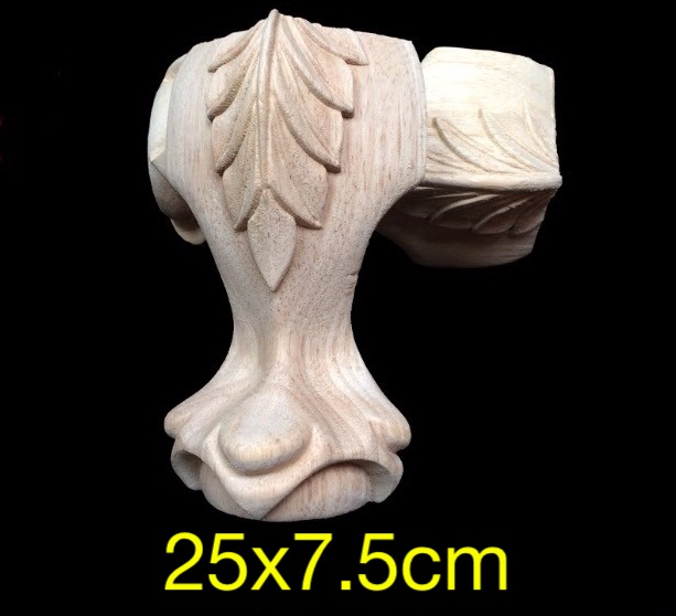 Dongyang Wood Carving High Table Legs Carved Furniture Legs And