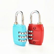 Suitcase Luggage Metal Code Lock 3 Dial Digit Password Combination Padlock Mini Coded Keyed Anti-Theft Locks
