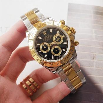 Top Brand Luxury Automatic Mechanical Watches Stainless Steel Sapphire Outdoor Adventure Luminous Calendar Watch 45
