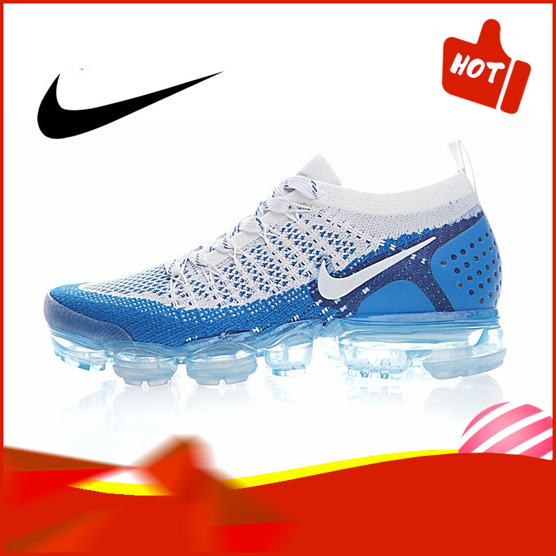 Authentic Original NIKE AIR VAPORMAX FLYKNIT 2.0 Men's Running Shoes Fashion Outdoor Sports Trend 2019 New 942842-104
